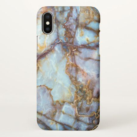 Cool and Trendy Marble Stone Texture Pattern iPhone X Case - tap, personalize, buy right now!