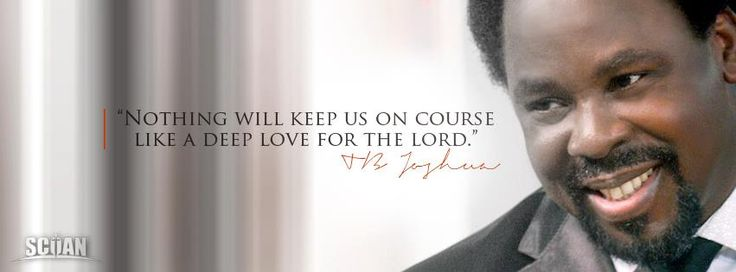 Happy 50TH Birthday Prophet TB Joshua – God is Your Strength ...