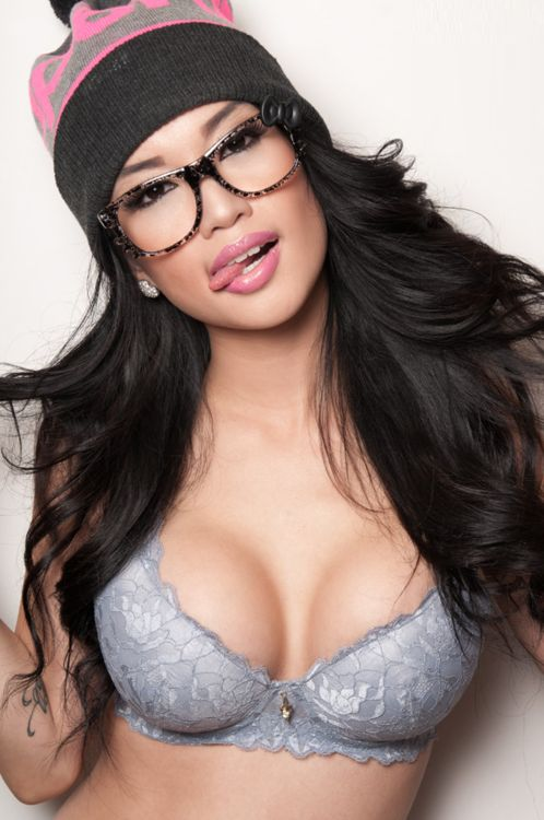 Japanese babe in specs 5