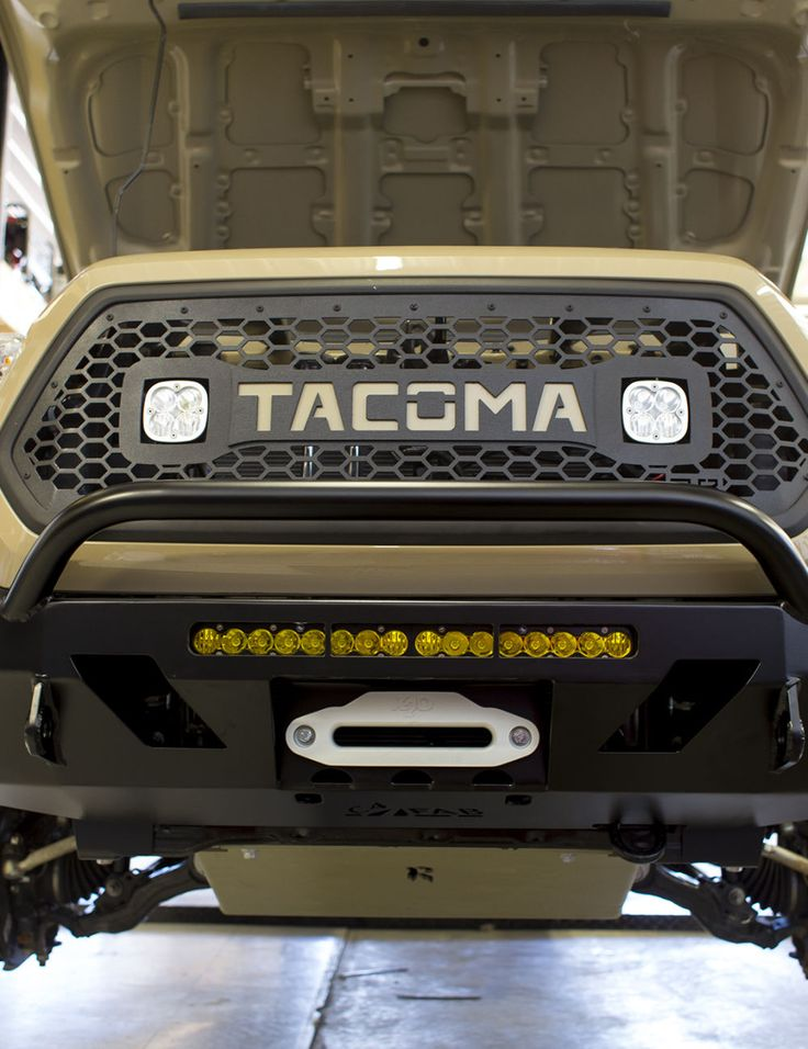 2016 Tacoma 3rd Gen Front Lo Pro Winch Bumper Tacoma