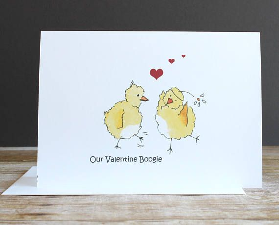 Watercolor Valentine S Day Card For Your Significant Etsy Valentines Cards Cards Funniest Valentines Cards