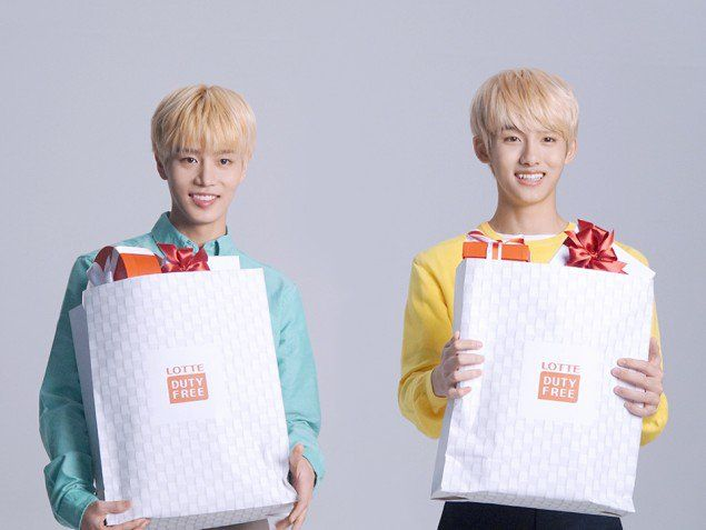 NCT Show Their Behind the Scenes Shots for 'Lotte Duty Free Shop' | Koogle TV