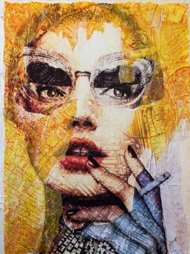 """Saatchi Art Artist Anyes Galleani; Painting, """"So Very Chic"""" #art"""
