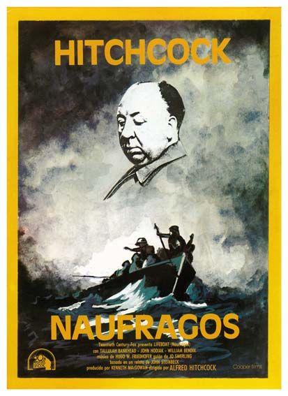 "Náufragos (1944) ""Lifeboat"" de Alfred Hitchcock - tt0037017"