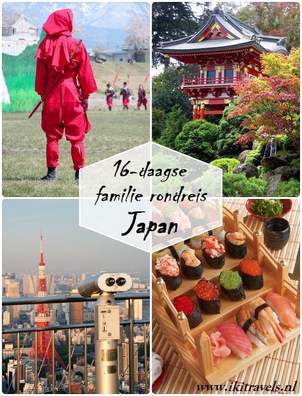 iki Travels heeft een familie reis Japan van 16 dagen in elkaar gezet, die ideaal is voor gezinnen met kinderen die samen Japan willen beleven. U ervaart hoe in Japan eeuwenoude Japanse tradities, zoals geisha's, samurai en strikte beleefdheidsvormen, hand in hand gaan met neonlichten, Disneyland, Hello Kitty en Nijntje. #family #roundtrip #Japan #itinerary