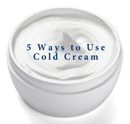Cold cream is a beauty product of lore... From makeup remover to face mask, there are lots of different ways to use it. Check my five favorite ways! #Beauty #ColdCream