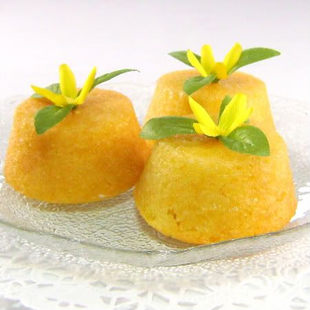 Delightful Little Lemon Tea Cakes..perfect for Afternoon Tea!