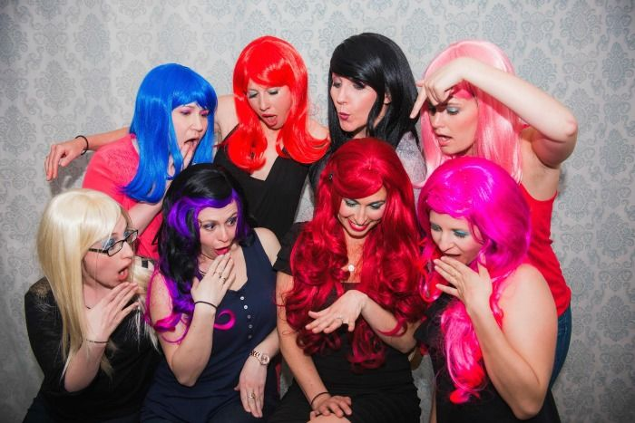 Throw a Bachelorette Wig Party!
