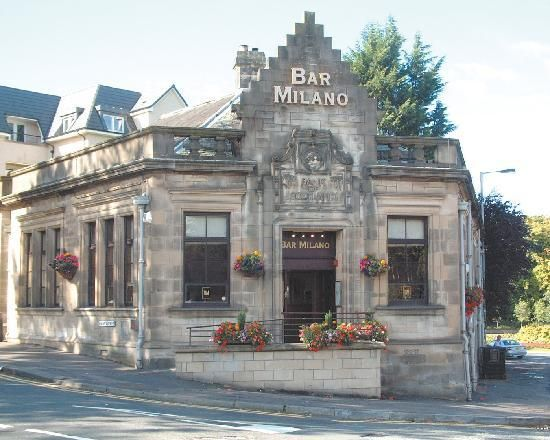 """Ch 17: I found Bill and Mike outside of the Bar Milano, apparently they had tried to fight a couple of British men several times. Bill yelled """"The dirty swine, i'm going to clean them out"""" (193)."""