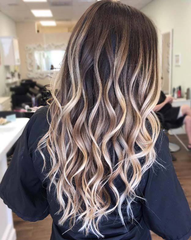Balayage High Lights To Copy Today - Hello Indeed - Simple, Cute, And Easy Ideas For Blonde Highlights, Dark Brown Hair, Curles, Waves, Brunettes, Natural Looks And Ombre Cuts. These Haircuts Can Be Done DIY Or At Salons. Don't Miss These Hairstyles! - https://www.thegoddess.com/balayage-high-lights-to-copy
