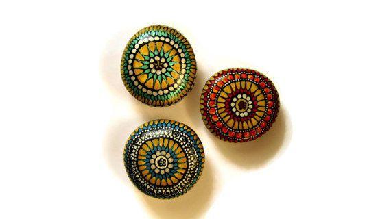 Mandala rocks art gift sets for women small gifts for women