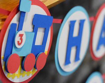 Ciuf ciuf due due treno compleanno Banner Banner di treno
