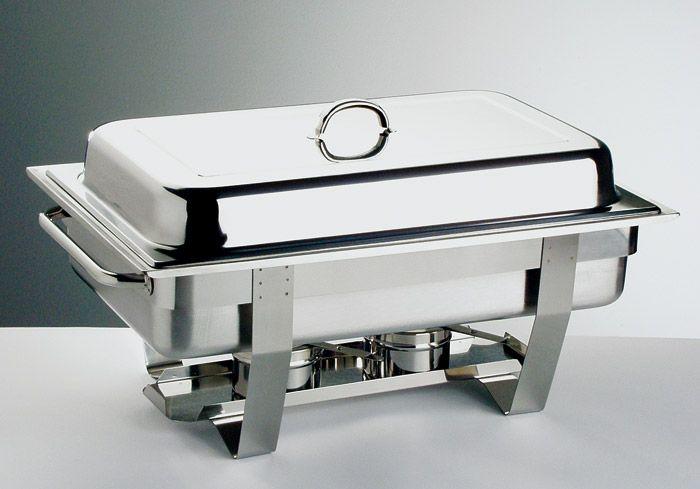 Podgrzewacz na paliwo prostokątny GN 1/1 610x310x300 mm   APS, Chef