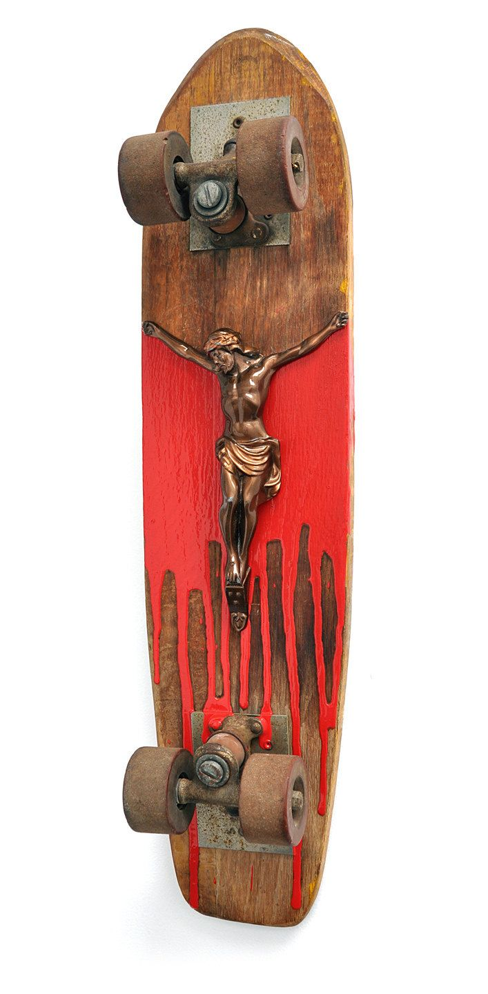 Lord Of Dogtown No.2 [ Jesus Dogtown Skateboard by Dan Levin ] by objectsofcuriosity on Etsy