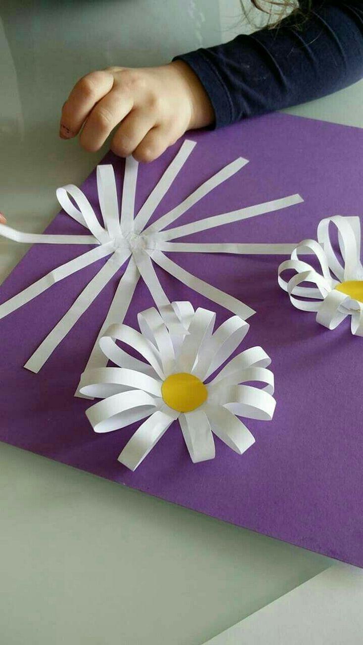 Spring crafts preschool creative art ideas. #artideasBsma Alrawi