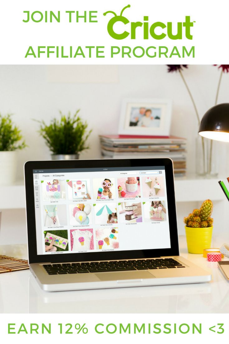 Join the Cricut affiliate program and earn 12% commission per sale. Craft bloggers DIY style blog. Best High Paying Affiliate Programs For Bloggers - Craft/DIY, Publishing, Weddings, Creative Business Niches How To Blog / Make Money Blogging / Affiliate Programs By Niche - wahm sahm make money online