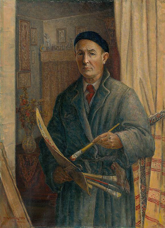 Martin Benka - Autoportrét, 1953