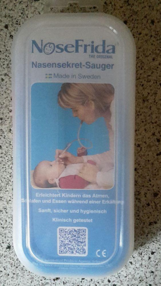 1 x NoseFrida Nasensekret Sauger Wird als gebraucht verkauft da Verpackung geöffnet. Wurde jedoch nicht benutzt. Privatverkauf keine Garantie und Rücknahme. Versand Postbrief 2,60 € Zahlung per Überweisung erbeten. | eBay!