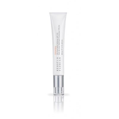 Oil Free Daily Defense SPF50 50ml, £47.00 Broad spectrum, non-whitening moisturizing sunscreen combined with pure Vitamin C and Co-Enzyme Q10 provides powerful daily facial protection for all skin types. This oil-free lotion delivers lightweight hydration and water-resistant defense against sun damage.
