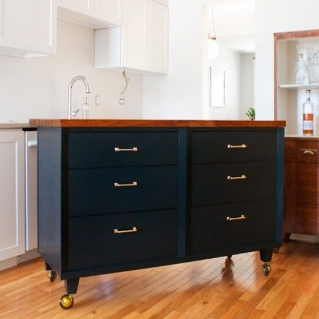 Our Mission Drawer Pull featured in a dresser turned