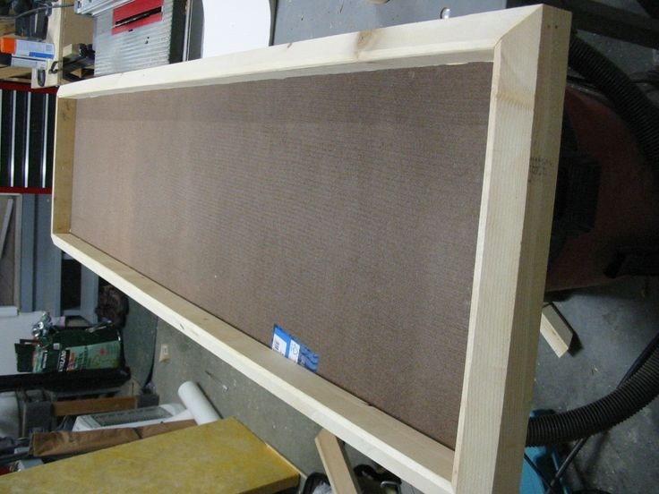 DIY acoustic panels using Owens Corning 703