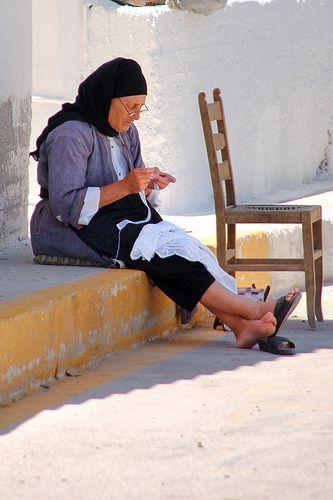 This is my Greece | Old woman in Karpathos