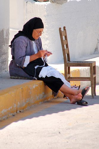 This is my Greece | Old woman in Karpathos