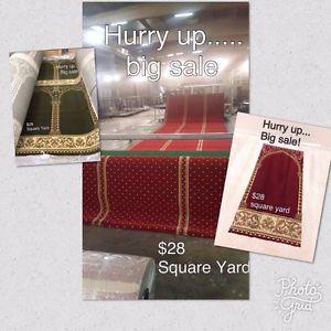 Mosque Carpet  Installation RUGS RUNNER Toronto GTA