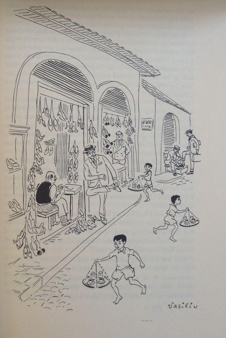Vasiliu - Cobblers (Forever Old, Forever New by Emily Kimbrough, Heinemann, 1965)