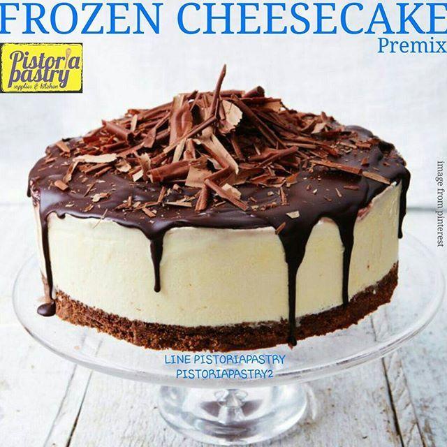 NEW ITEM PREMIX FROZEN CHEESE CAKE, cara mudah untuk membuat cheese cake. Hanya menambahkan air dan susu. Diaduk hingga rata lalu simpan di freezer Adonan bisa dicampur dengan matcha powder, selai buah, cokelat dll Kemasan repack 250gr Harga 54rb Tiap pack bisa jadi 435gr cheese cake. Bisa di cetak di loyang 15-18cm atau di loyang2 mini ORDER KE Admin 1 LINE PISTORIAPASTRY WA 087889607670 Admin 2 LINE PISTORIAPASTRY2 WA 087775108990 NO PHONE CALL GUNAKAN FORMAT ORDER PENGIRIMAN DARI...