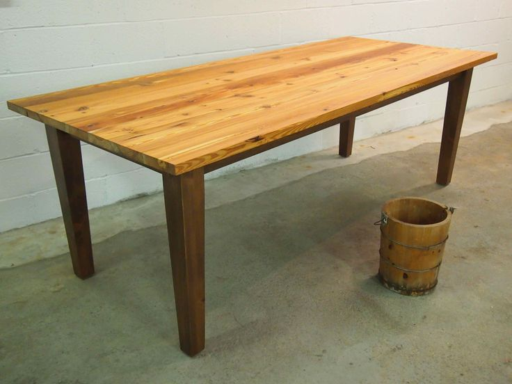 Reclaimed Boxberry Farm Table 1900s   Truly A Timeless Vintage American  Farm Table. Handcrafted From Reclaimed U0027heart Of Pineu0027 Wood That Was  Salvaged From ...