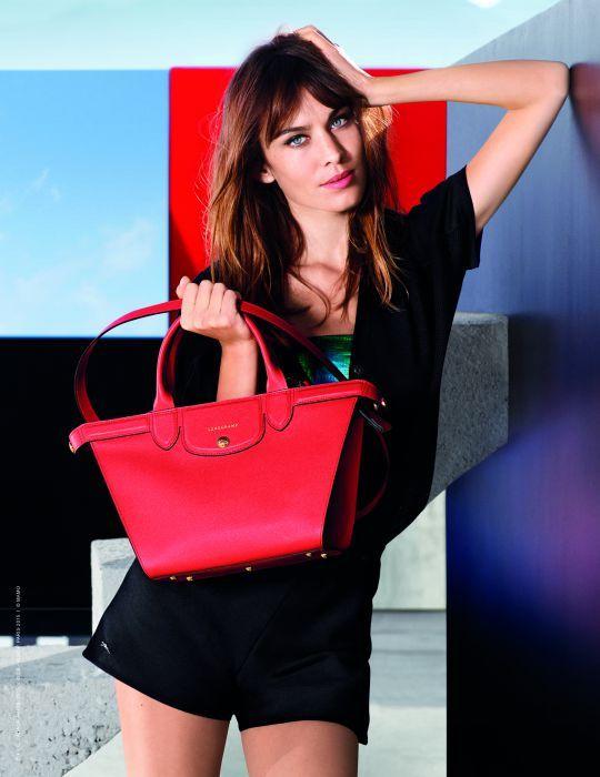 Alexa Chung w nowej kampanii Longchamp - Modelki Glamour