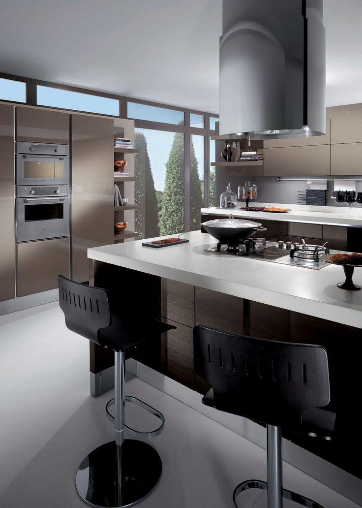 luxusna kuchyna - MODERNA-KUCHYNASK Home Pinterest - alno küchen grifflos
