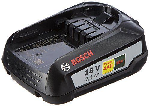 Bosch 1600A005B0 GR SKU Batterie lithium-ion 18 V 2,5 Ah: Price:56.91 batterie 18 Li 2,5 Ah – Une batterie supplémentaire est idéale pour…