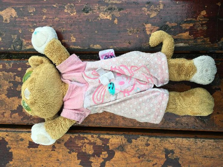 Kitty has been reunited! YAY!!  Found on 04 Apr. 2016 @ Cavendish park west didsbury . Found well loved ginger cat in pink jumpsuit. Big green eyes Visit: https://whiteboomerang.com/lostteddy/msg/12okle (Posted by Clare on 04 Apr. 2016)