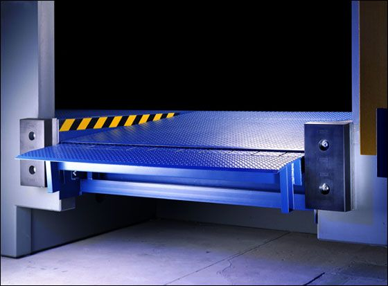 VVS twin cylinder hydraulic #Dockleveler is designed for the user who load and unload the goods from all kinds of truck. The dock leveler forms a bridge between the truck and warehouse platform. http://www.vvsautomaticdoors.com/detail-vvs_hydraulic_dock_leveler-15.htm
