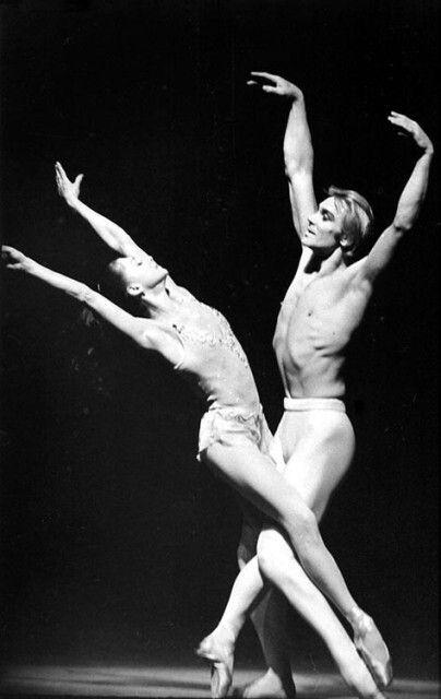 """Ekaterina Maksimova and Vladimir Vasiliev in """"Gavrilushka""""/1976"""