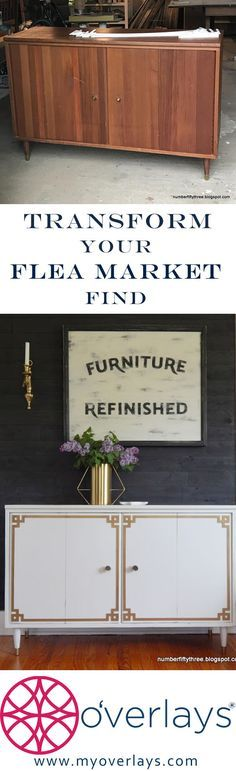 Flea market flip is what NumberFiftyThree.blogspot knows how to do. Cut and paste O'verlays on your flea market treasure.