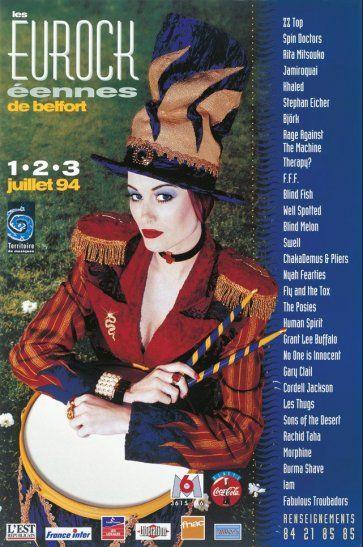 Les Eurockéennes de Belfort, 1994