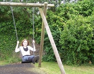 How to Make Your Own Swing Set With 4X4 Lumber | eHow