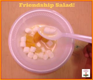 Friendship Salad!  A great beginning of the year activity to build relationships in your classroom!  And you can eat it!