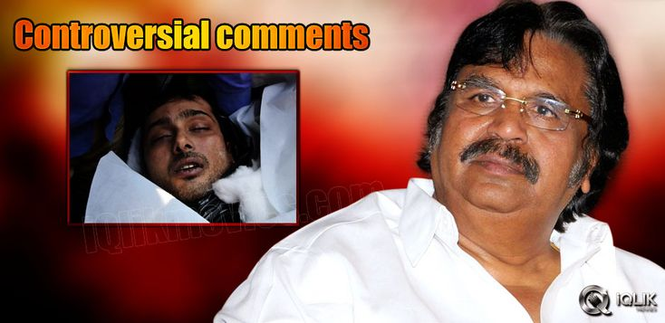 Dasari's controversial comments on Uday Kiran's death http://www.iqlikmovies.com/news/2014/01/07/Dasaris-controversial-comments-on-Uday-Kirans-deat/news/2960