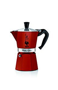 Amazon.com: Bialetti 06905 6-Cup Espresso Coffee Maker, Red: Kitchen & Dining