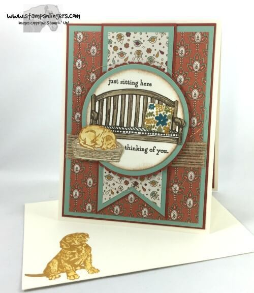 Stamps n lingers sitting here greatest greetings non su for Stampin pretty craft room