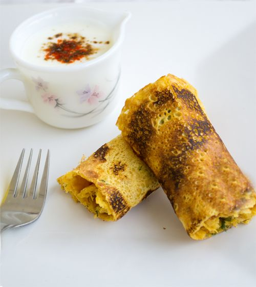 Besan cheela or chickpeas flour savoury crepes can be star of the late and lazy weekend breakfast cum brunch.