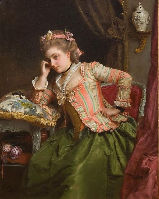 36 best Gustave Jean Jacquet images on Pinterest | 16th century ...