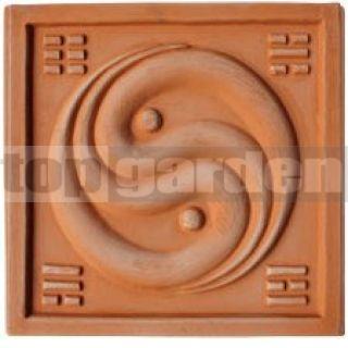 Keramický reliéf 13 Jin Jang