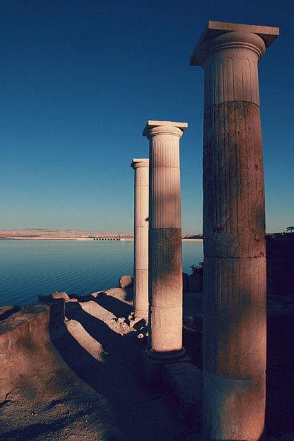 Archeological site Zeugma, District of Nizip, Province of Gaziantep, Turkey.