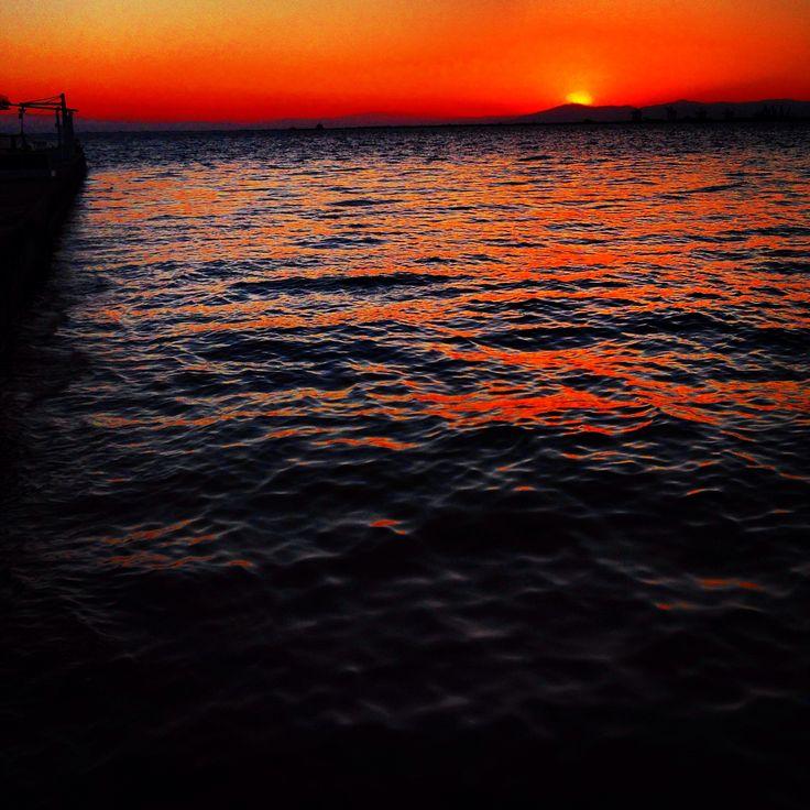 Sunset in Thermaikos.