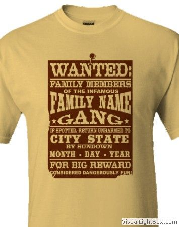 40 best family reunion t-shirts images on Pinterest | Tee shirts ...